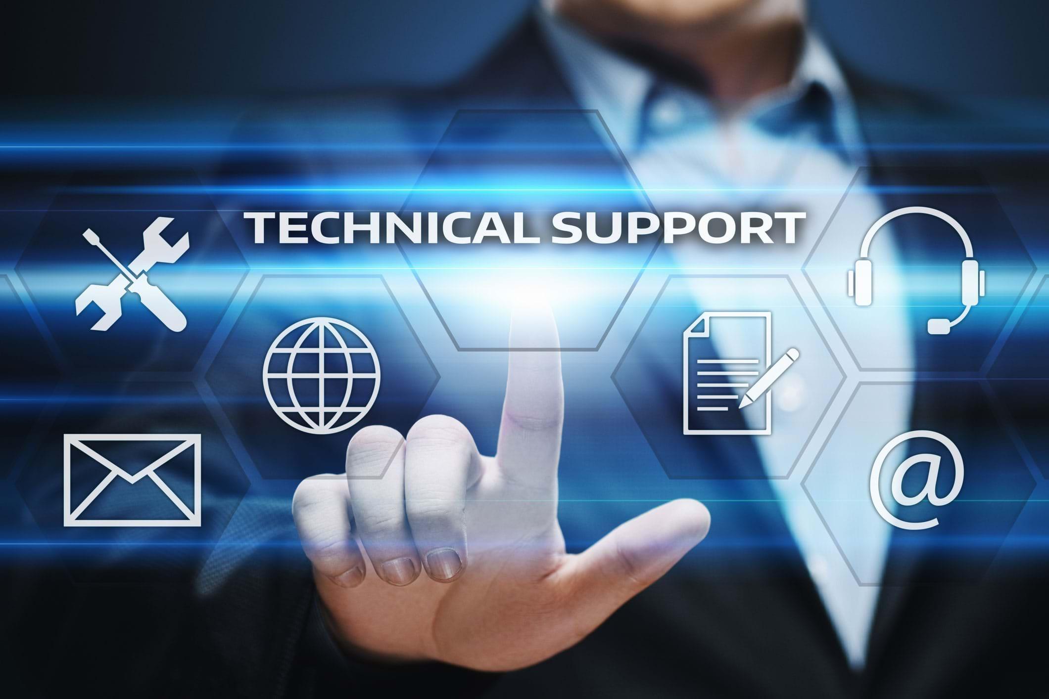 hỗ trợ kỹ thuật dẫn đầu