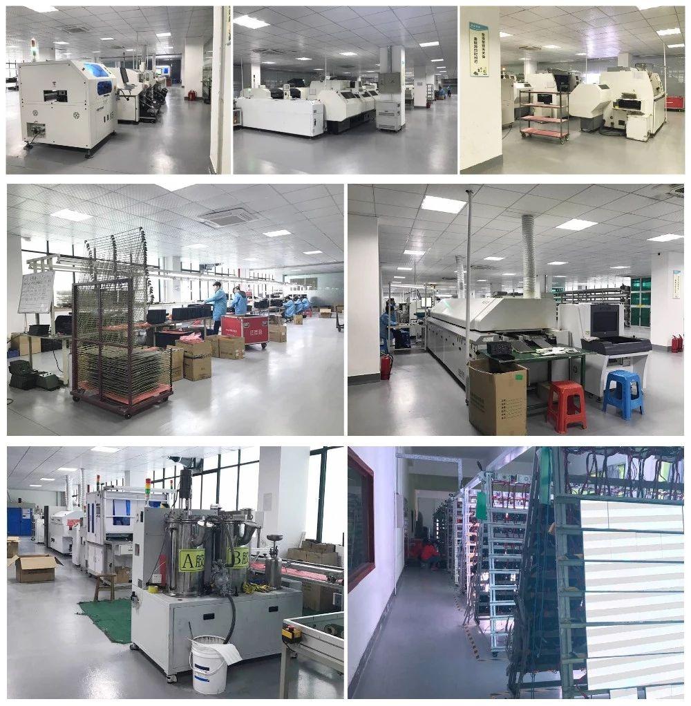 naša továreň na výrobu led obrazoviek